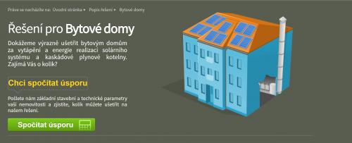 Jak vypadá řešení pro bytové domy - 2K Energy