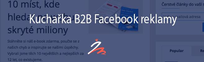 Kuchařka B2B Facebook reklamy