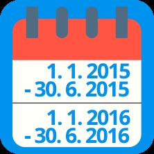 obrat kalendář